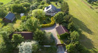 Dom z atrakcyjną działką – 13 km od Suwałk