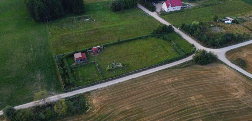 Działka budowlana w Zdrębach, gm. Bakałarzewo